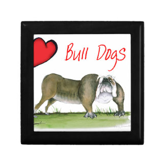 we luv bulldogs from tony fernandes gift box