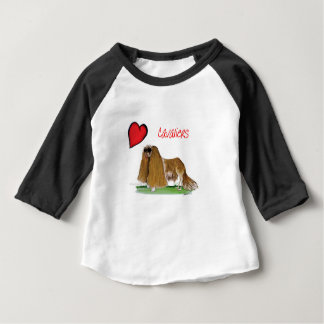 we luv cavaliers from tony fernandes baby T-Shirt