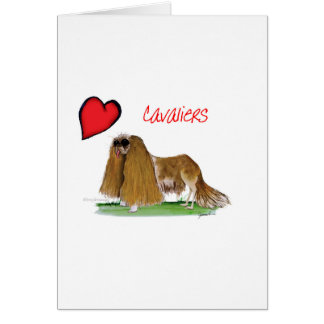 we luv cavaliers from tony fernandes card