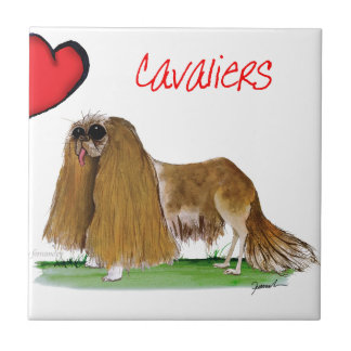 we luv cavaliers from tony fernandes ceramic tile