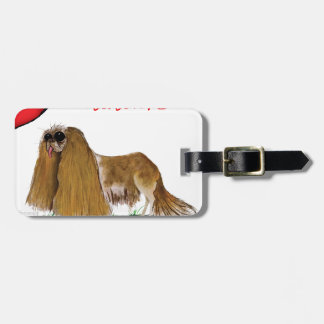 we luv cavaliers from tony fernandes luggage tag