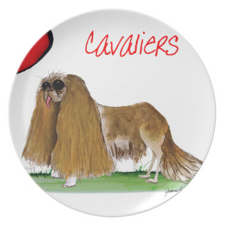 we luv cavaliers from tony fernandes plate