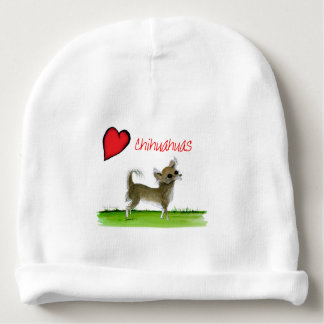 we luv chihuahuas from tony fernandes baby beanie