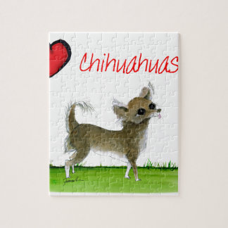 we luv chihuahuas from tony fernandes jigsaw puzzle