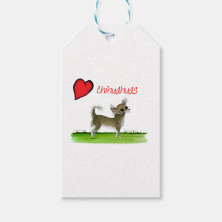 we luv chihuahuas from tony fernandes pack of gift tags