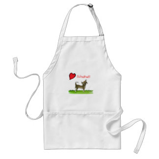 we luv chihuahuas from tony fernandes standard apron