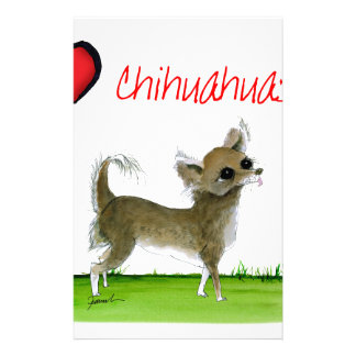 we luv chihuahuas from tony fernandes stationery