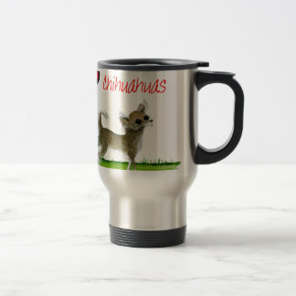 we luv chihuahuas from tony fernandes travel mug