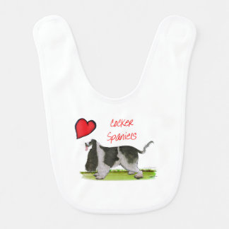 we luv cocker spaniels from tony fernandes bib