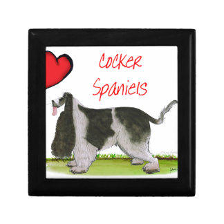we luv cocker spaniels from tony fernandes gift box