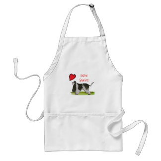 we luv cocker spaniels from tony fernandes standard apron