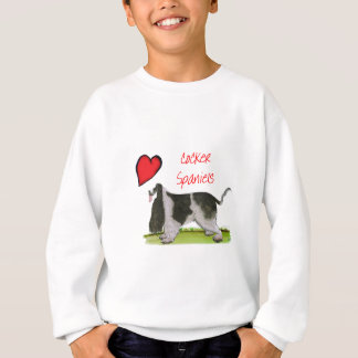 we luv cocker spaniels from tony fernandes sweatshirt