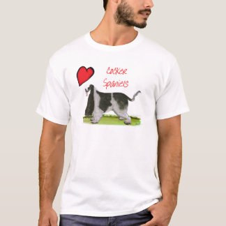 we luv cocker spaniels from tony fernandes T-Shirt