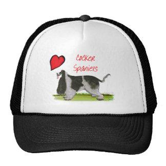 we luv cocker spaniels from tony fernandes trucker hat