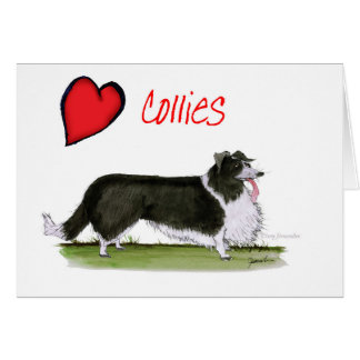 we luv collies from tony fernandes card