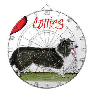 we luv collies from tony fernandes dartboard