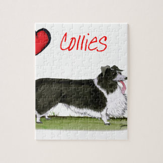 we luv collies from tony fernandes jigsaw puzzle