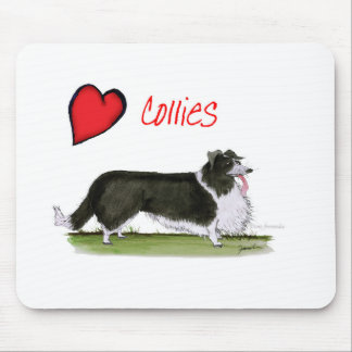 we luv collies from tony fernandes mouse pad