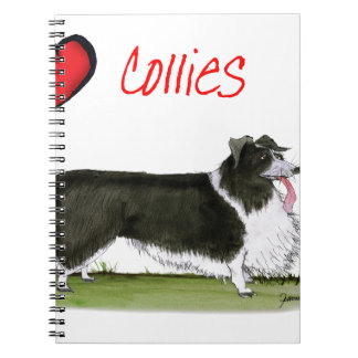 we luv collies from tony fernandes notebook