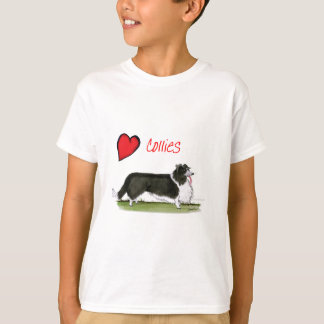 we luv collies from tony fernandes T-Shirt