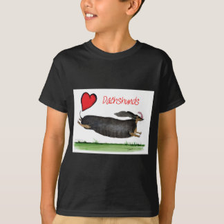 we luv dachshunds from Tony Fernandes T-Shirt