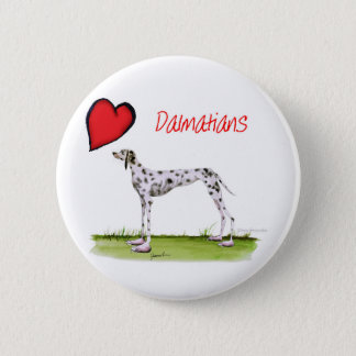 we luv dalmatians from Tony Fernandes 2 Inch Round Button