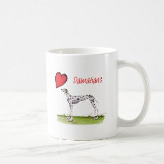 we luv dalmatians from Tony Fernandes Coffee Mug