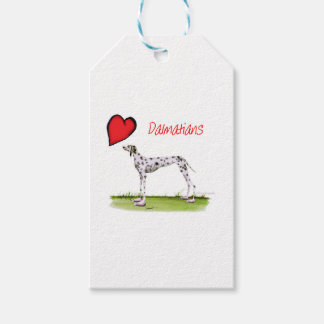 we luv dalmatians from Tony Fernandes Gift Tags