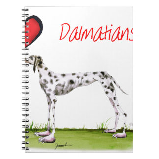 we luv dalmatians from Tony Fernandes Notebooks