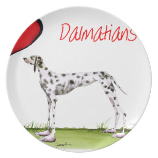 we luv dalmatians from Tony Fernandes Plate