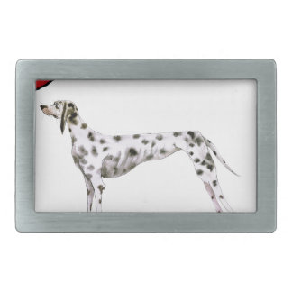 we luv dalmatians from Tony Fernandes Rectangular Belt Buckles
