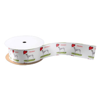 we luv dalmatians from Tony Fernandes Satin Ribbon