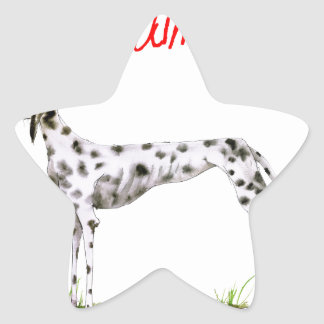 we luv dalmatians from Tony Fernandes Star Sticker