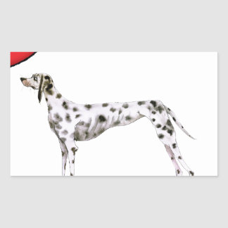 we luv dalmatians from Tony Fernandes Sticker