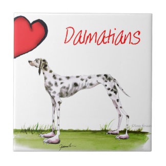 we luv dalmatians from Tony Fernandes Tile
