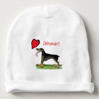 we luv dobermans from Tony Fernandes Baby Beanie