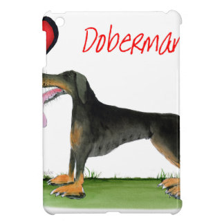 we luv dobermans from Tony Fernandes Cover For The iPad Mini