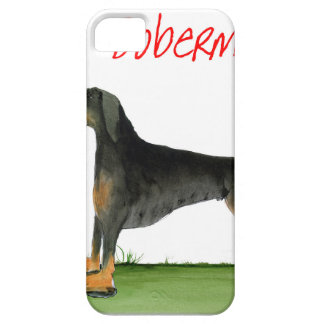 we luv dobermans from Tony Fernandes iPhone 5 Cover