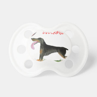 we luv dobermans from Tony Fernandes Pacifier