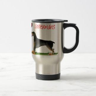 we luv dobermans from Tony Fernandes Travel Mug