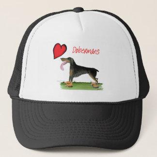 we luv dobermans from Tony Fernandes Trucker Hat