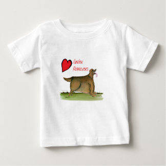 we luv golden retrievers from Tony Fernandes Baby T-Shirt