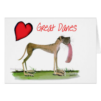 we luv great danes from Tony Fernandes Card