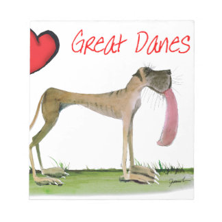 we luv great danes from Tony Fernandes Notepad