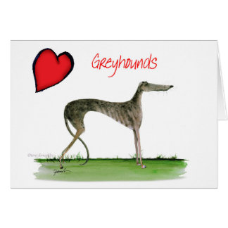 we luv greyhounds from Tony Fernandes Card