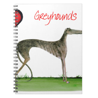 we luv greyhounds from Tony Fernandes Notebook