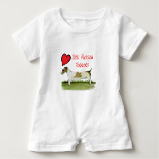 we luv jack russell terriers from Tony Fernandes Baby Romper