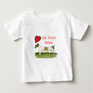 we luv jack russell terriers from Tony Fernandes Baby T-Shirt