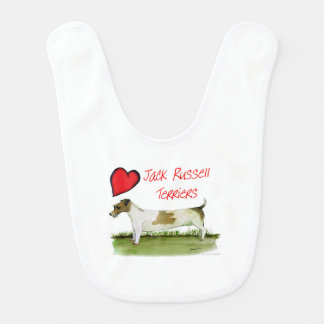 we luv jack russell terriers from Tony Fernandes Bib