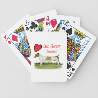 we luv jack russell terriers from Tony Fernandes Bicycle Playing Cards